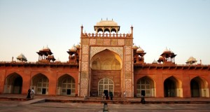 Peripheral Attractions in Agra