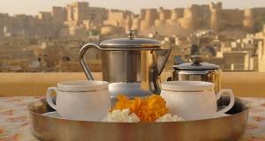 Eating Outr In Jaisalmer
