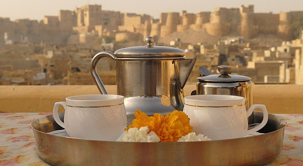 Eating Outr In Jaisalmer