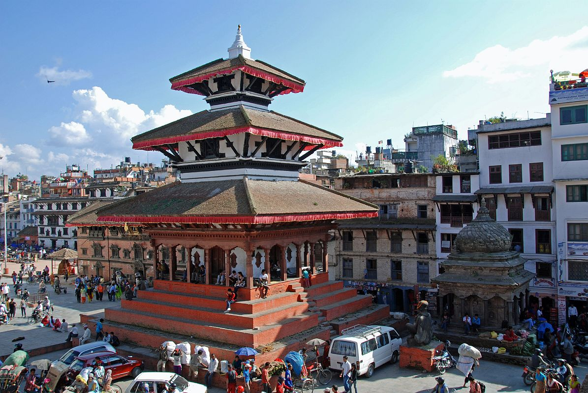 Kathmandu Durbar Square Kumari Bahal Trailokya Mohan Narayan Temple Garuda Statue Bimaleshwor Name Wallpaper